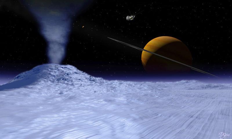 Гейзеры спутника Сатурна