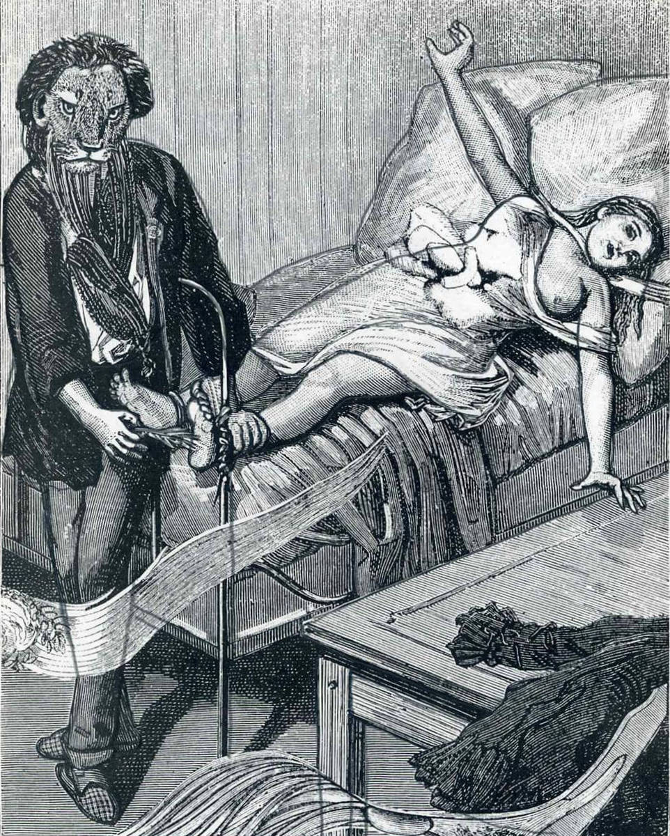 Иллюстрация к «Неделе Добра» Макс Эрнст (1934) 3