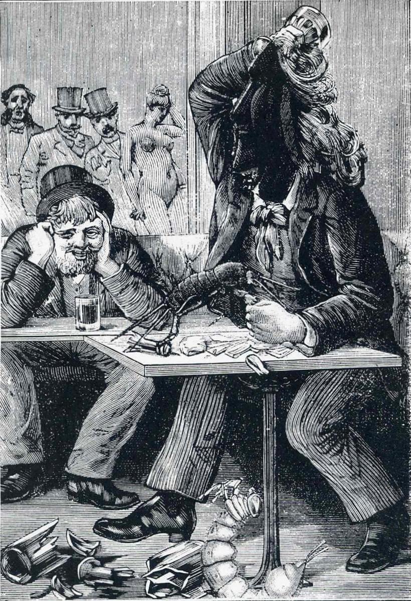 Иллюстрация к «Неделе Добра» Макс Эрнст (1934) 4