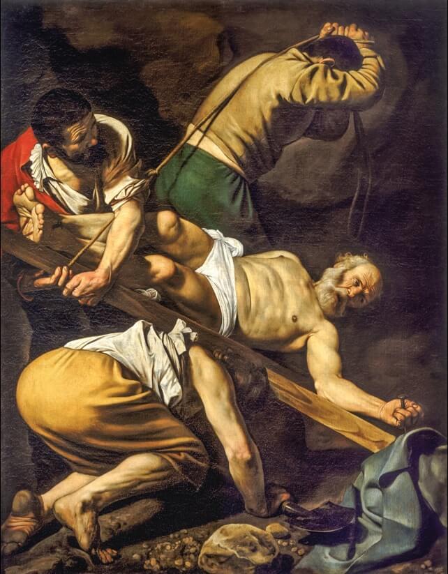 Караваджо Распятие Святого Петра