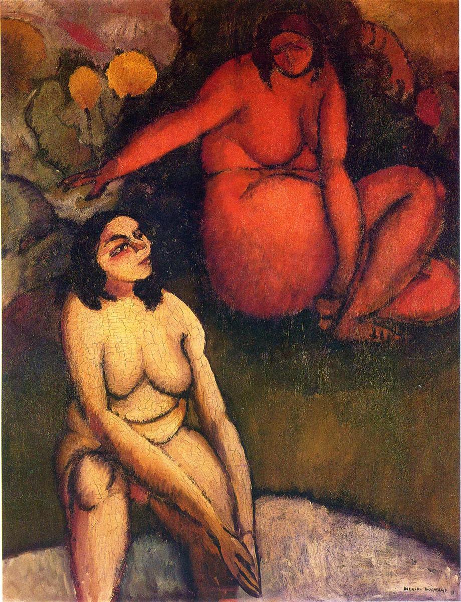 Крещение - Марсель Дюшан (1911)