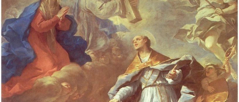 Святой Януарий спасает Неаполь от чумы  — Лука Джордано