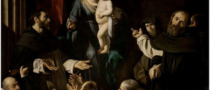 Мадонна с четками — Караваджо