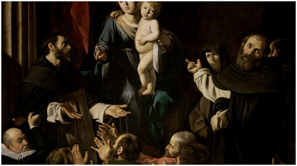 Мадонна с четками Караваджо