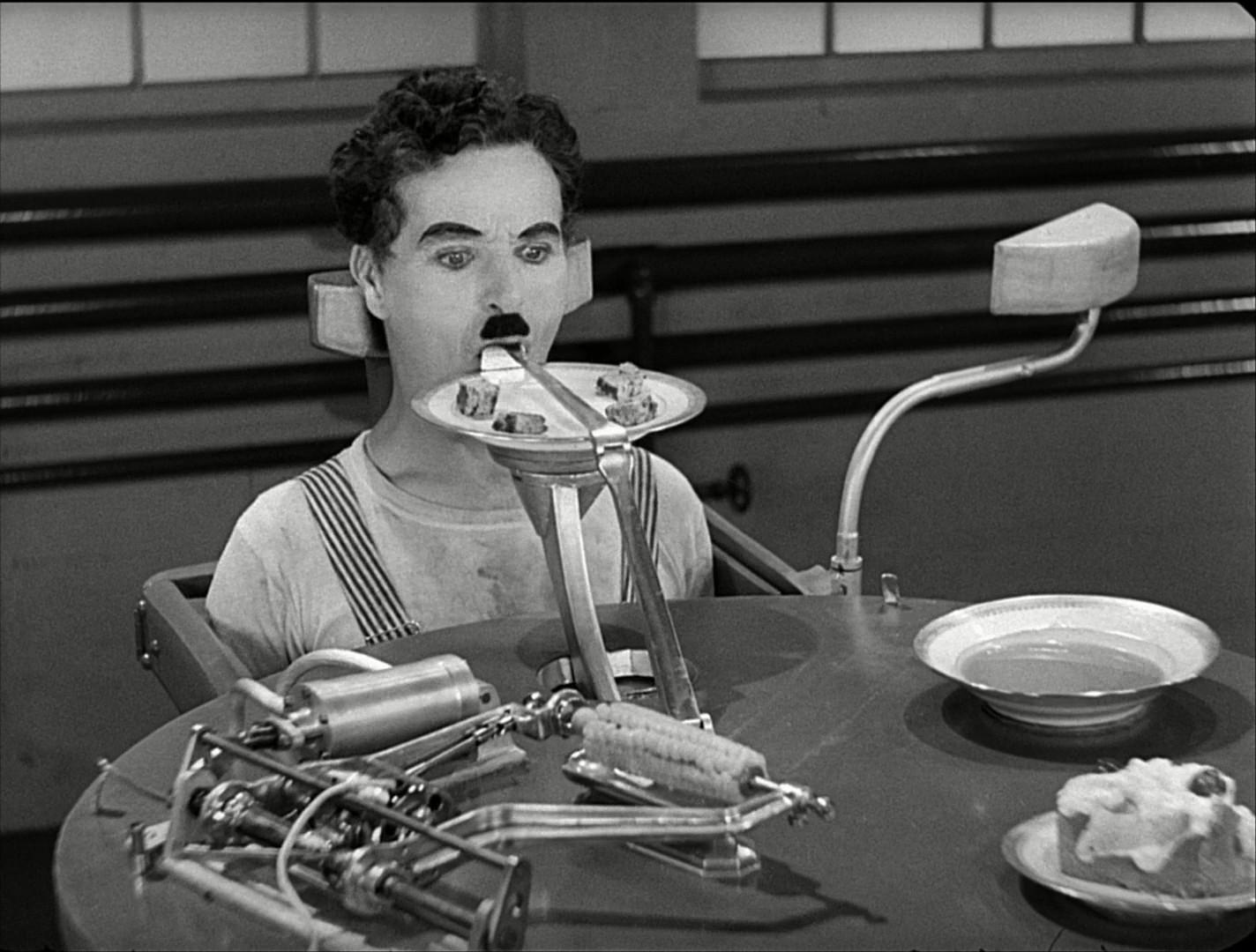 Чаплин новые времена