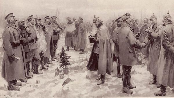 Рождественское перемирие 1914