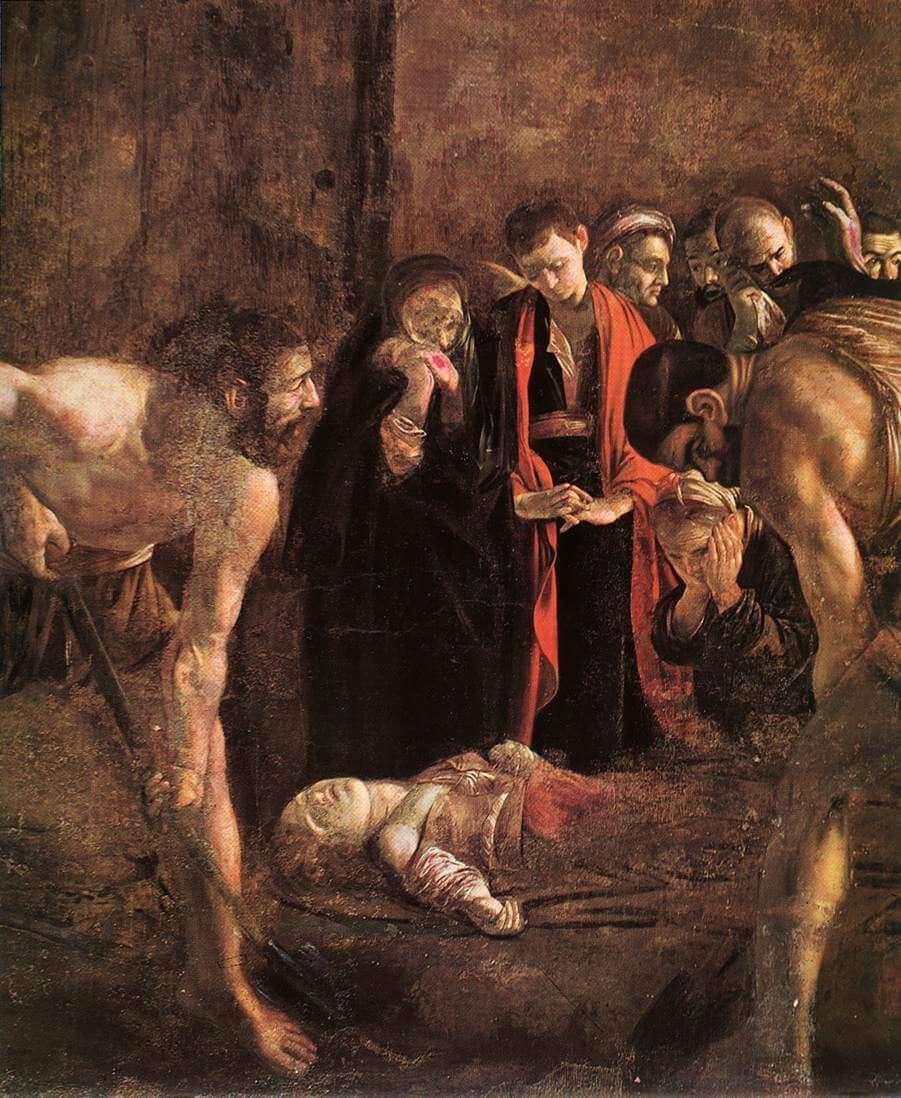Караваджо Погребение Святой Лючии