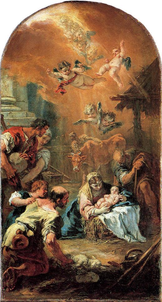 Поклонение пастухов (1734)