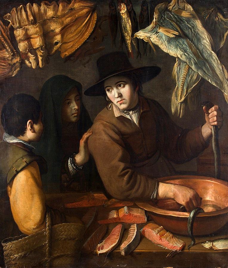 Продавщица рыбы
