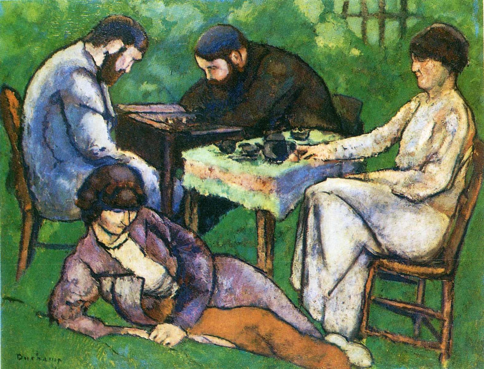 Шахматы - Марсель Дюшан (1910)