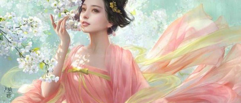 Сакральная женственность в картинах китайского художника xzfshao