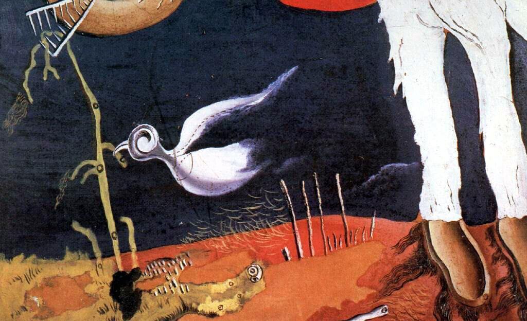 Сальвадор Дали Птица 1928 г