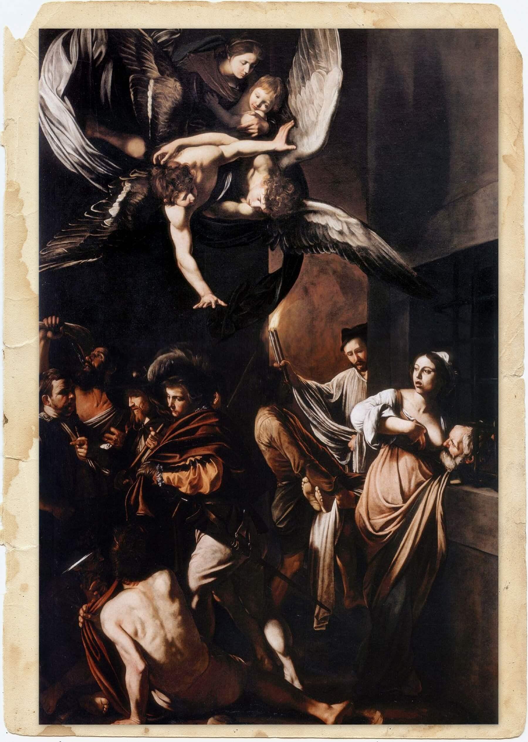 Семь деяний милосердия Караваджо
