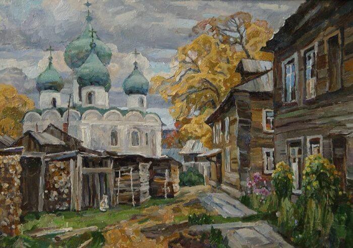 Картины художника Захарова Олега Николаевича