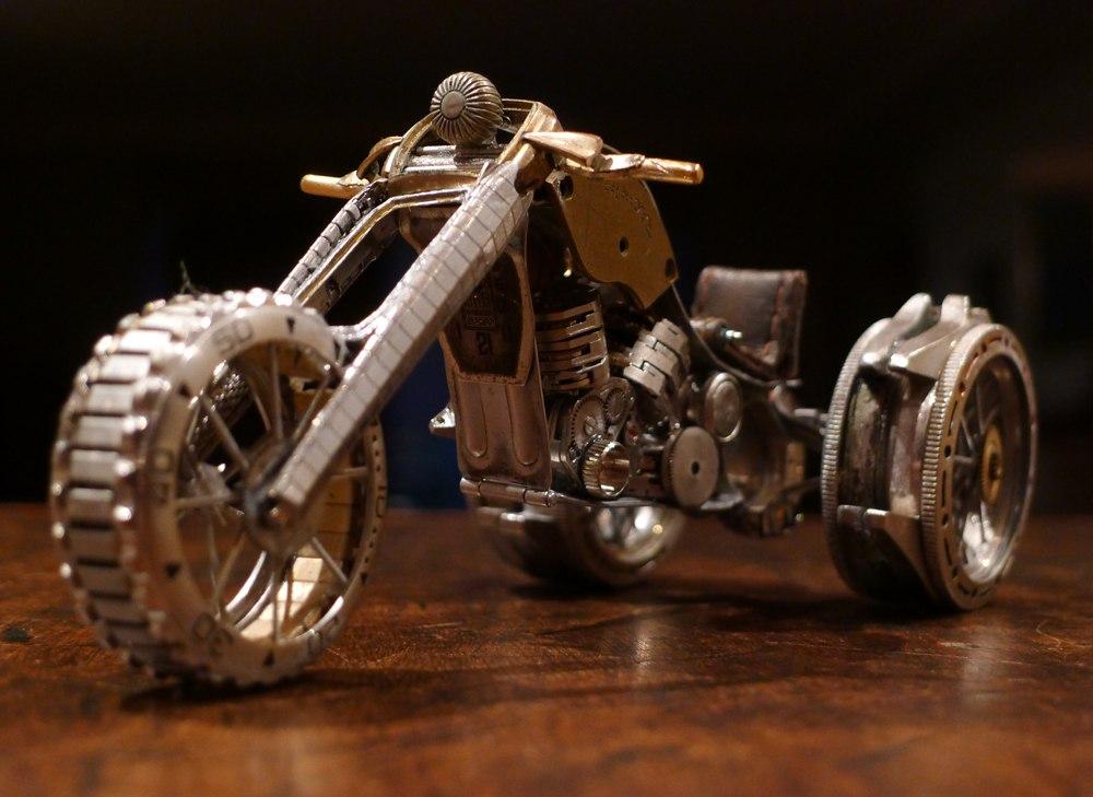 стимпанк мотоциклы