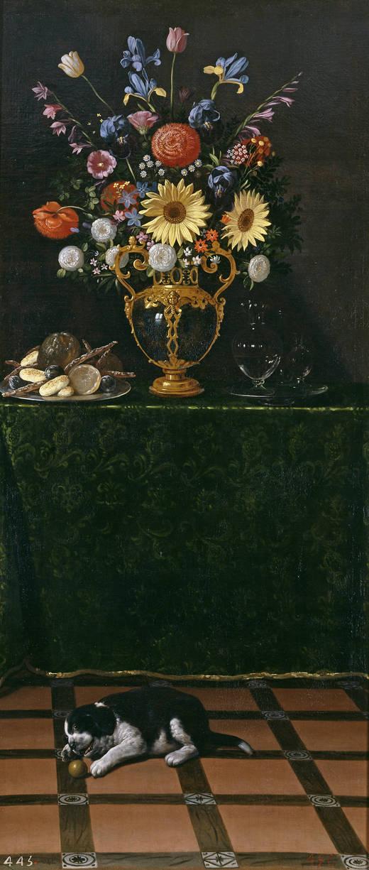 Ваза с цветами - Хуан ван дер Хамен и Леон