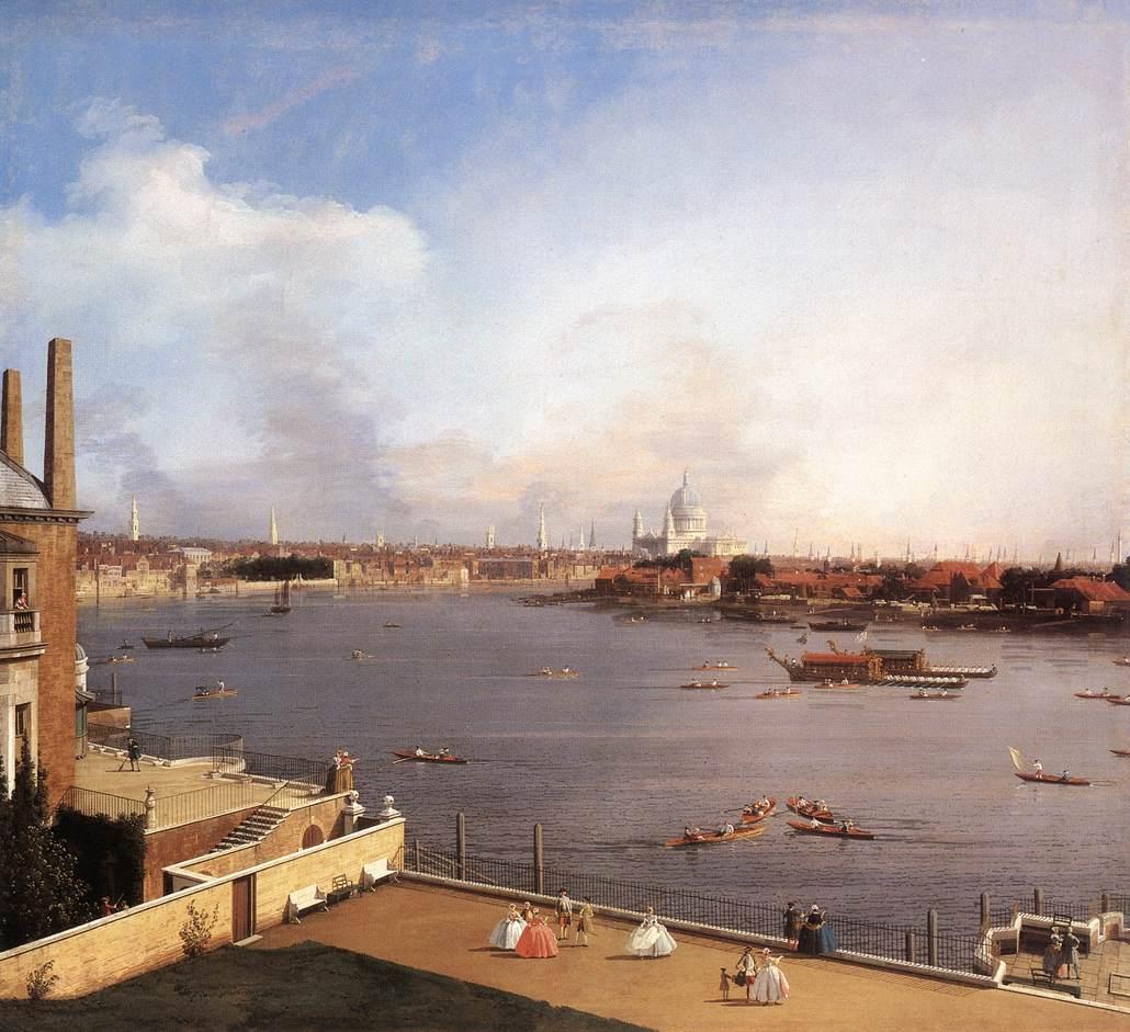 Вид на Лондон, 1746