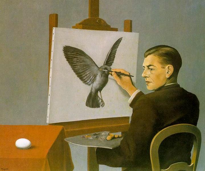 Ясновидение (Автопортрет) , 1936
