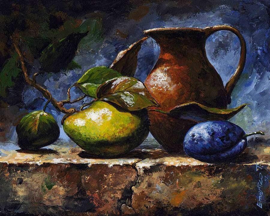 Эмерико Имре натюромрт с фруктами