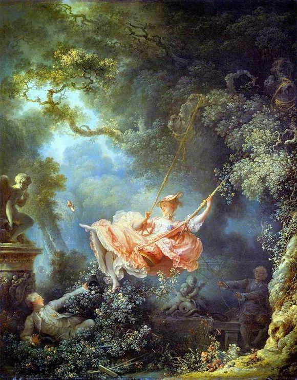 Жан Оноре Фрагонар - Качели 1767г.
