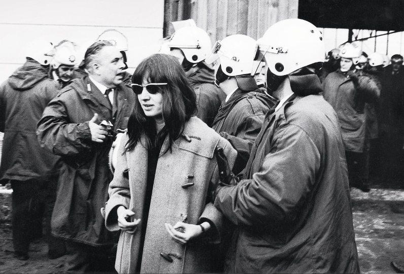 арест Ульрика Майнхоф 1972