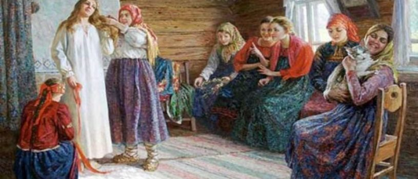 Зачем русские девушки заплетали волосы, когда косу расплетали и кому обрезали….