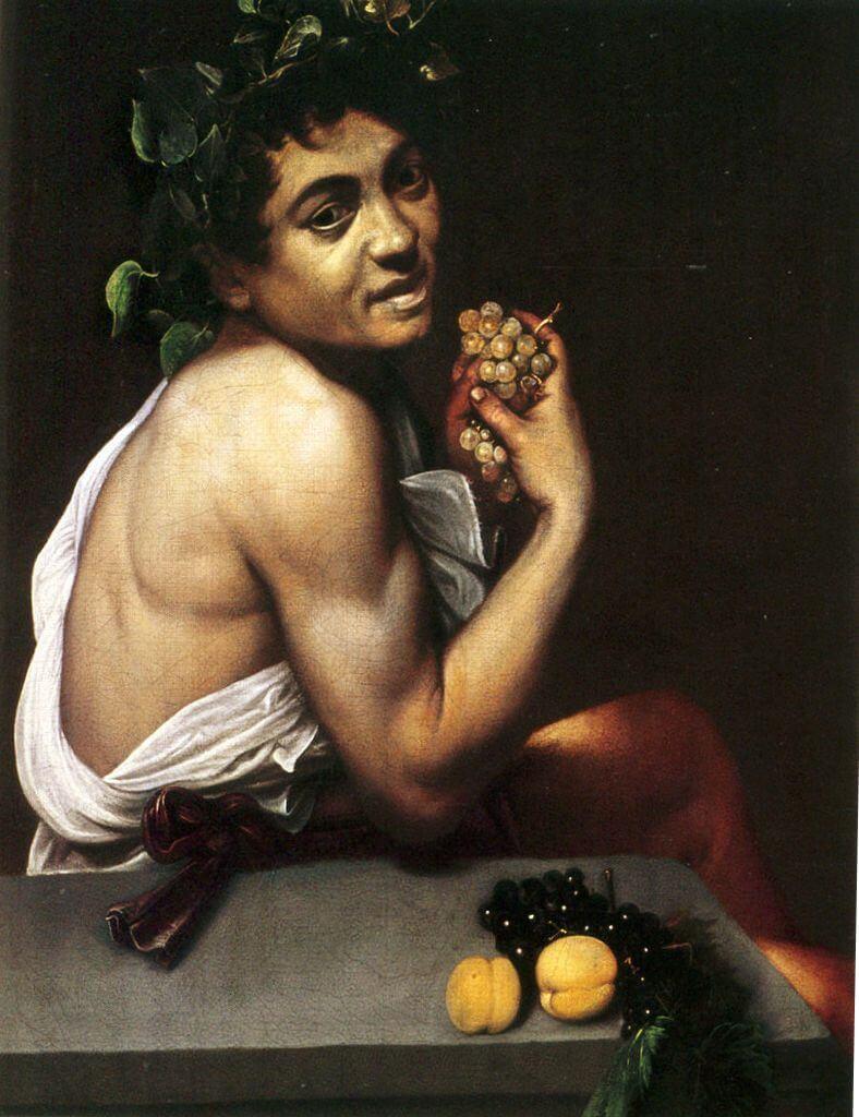 караваджо больной вакх, около 1593-1594г
