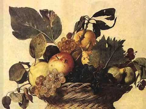 караваджо натюрморт корзина с фруктами