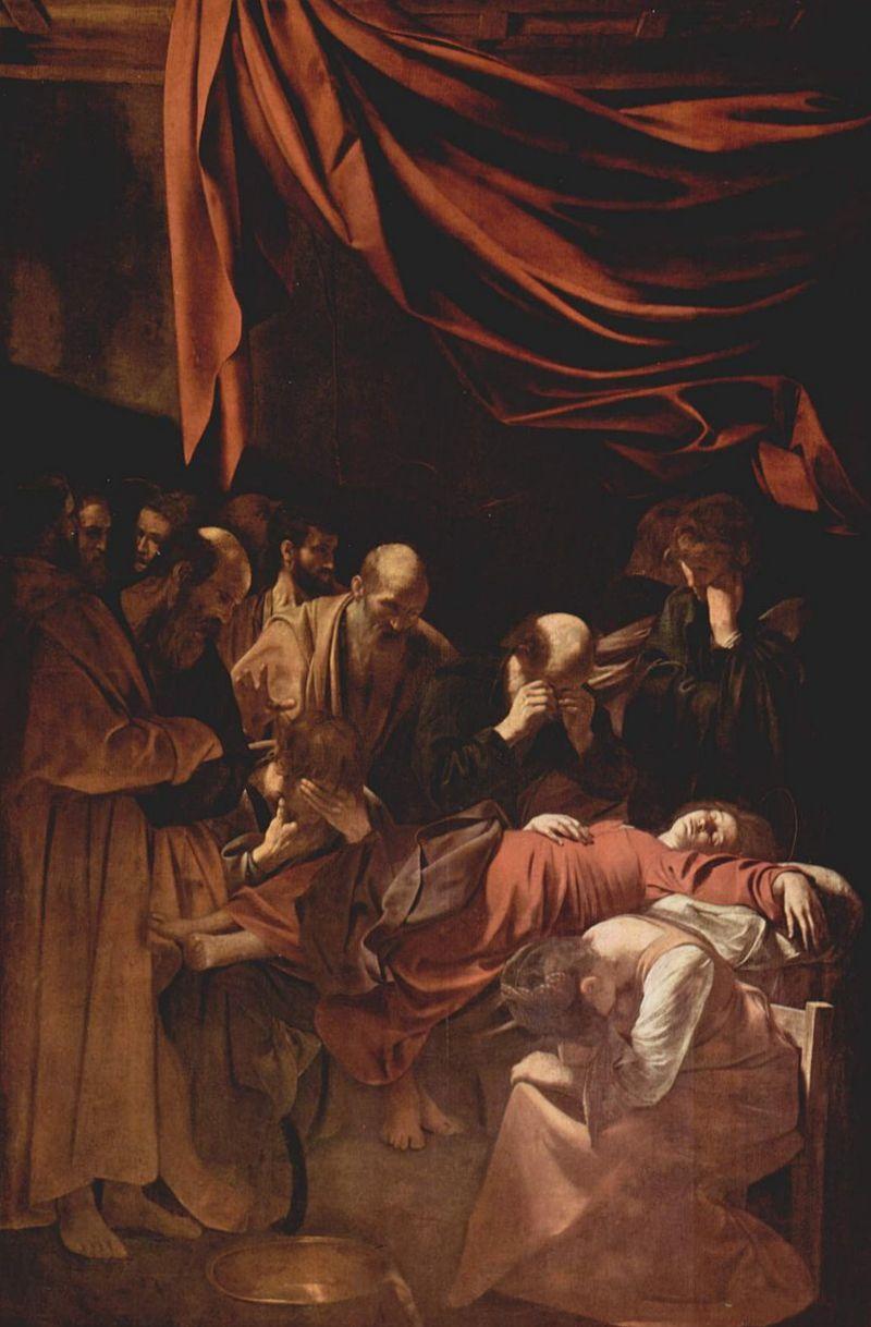 караваджо смерть марии