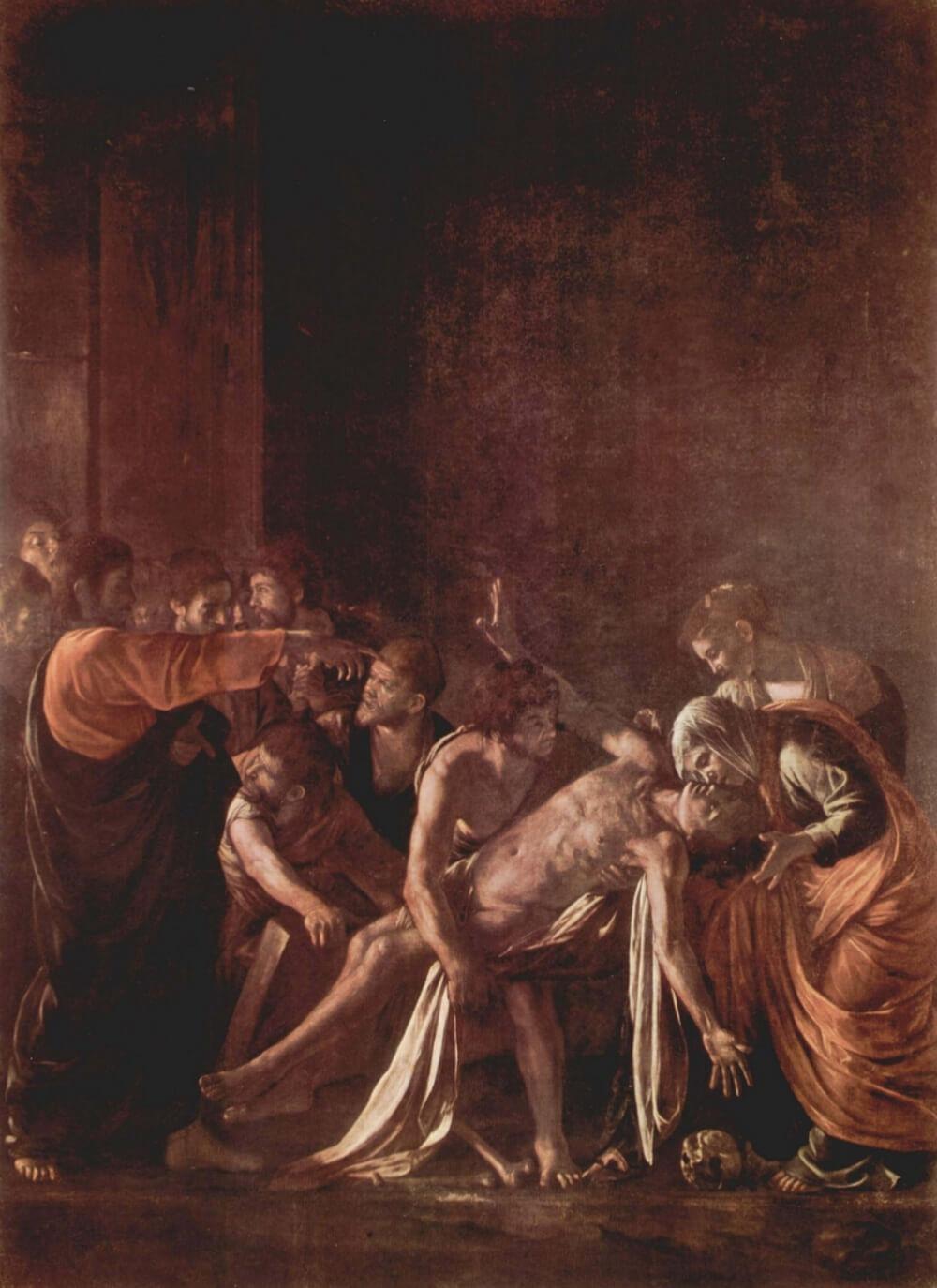 караваджо воскрешение лазаря