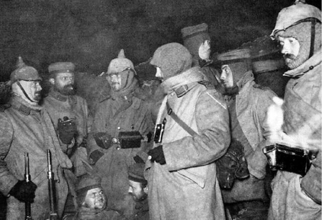 первая мировая война рождественское перемирие