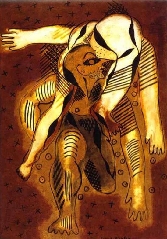 Акробаты - Франсис Пикабиа (1925)