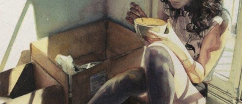 Акварельный реализм Маркоса Беккари