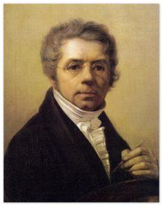 Алексей Венецианов - Автопортрет (1830, Третьяковская галерея, Москва )