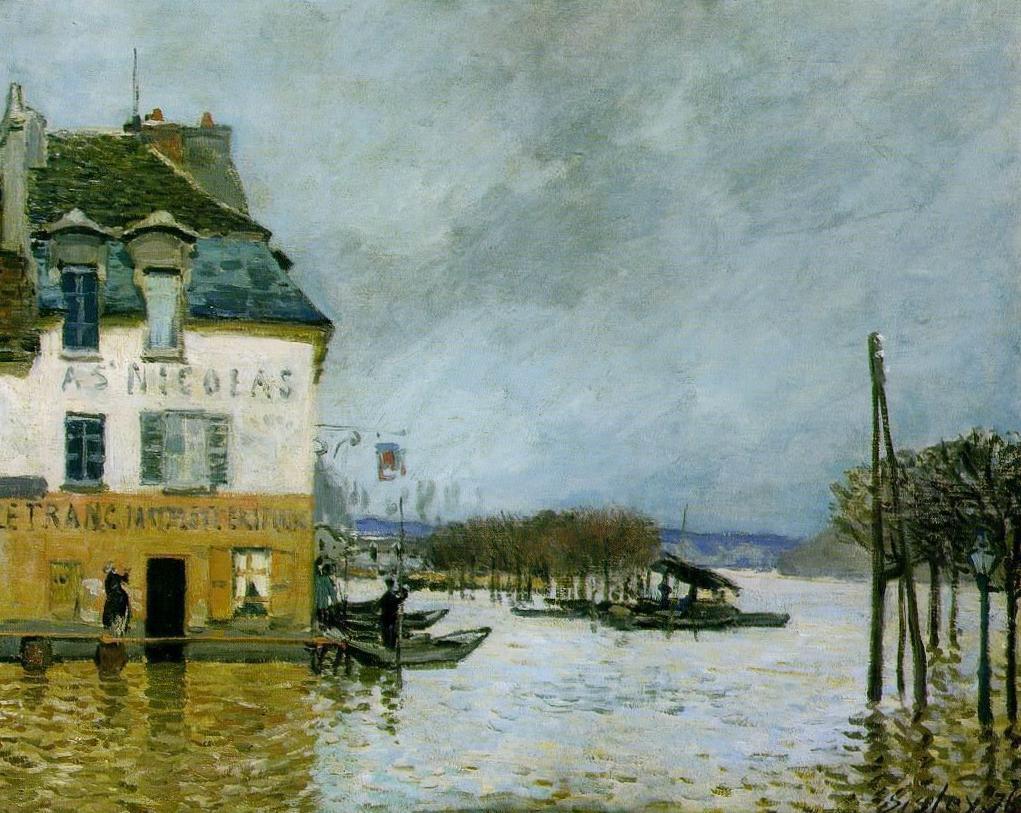 Альфред Сислей – художник импрессионист