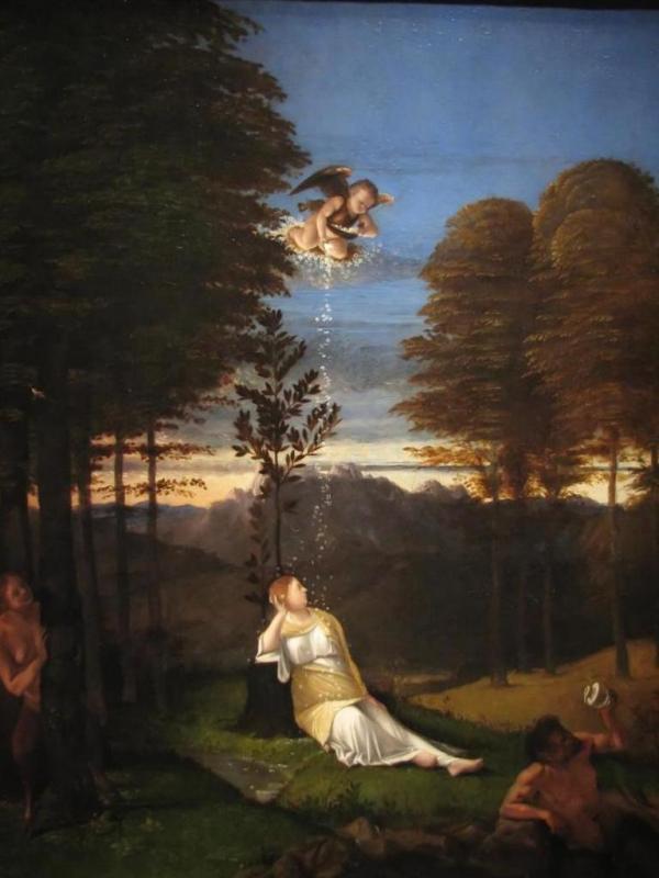 Аллегория целомудрия - Лоренцо Лотто (1505)