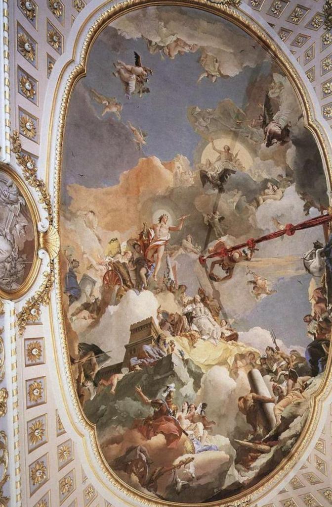 Апофеоз испанской монархии - Джованни Баттиста Тьеполо (1765)
