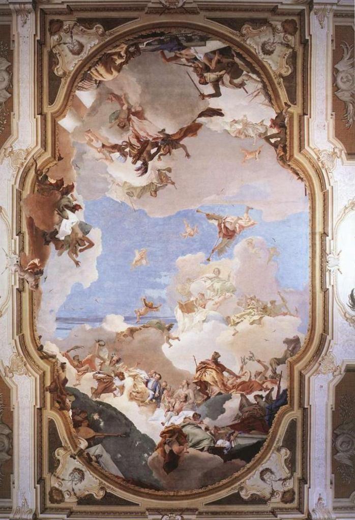 Апофеоз семьи Пизани - Джованни Баттиста Тьеполо (1761)