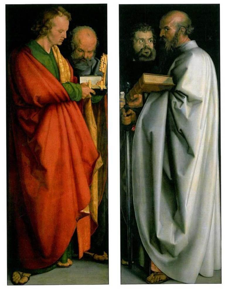 Апостолы - Альбрехт Дюре (1526)