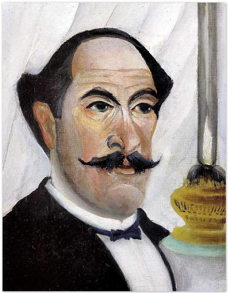 Автопортрет - Анри Руссо(1900)