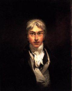 Автопортрет - Уильям Тёрнер (1799)