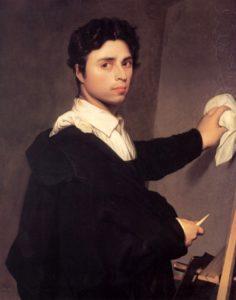 Автопортрет - Жан Огюст Доминик Энгр (1804)