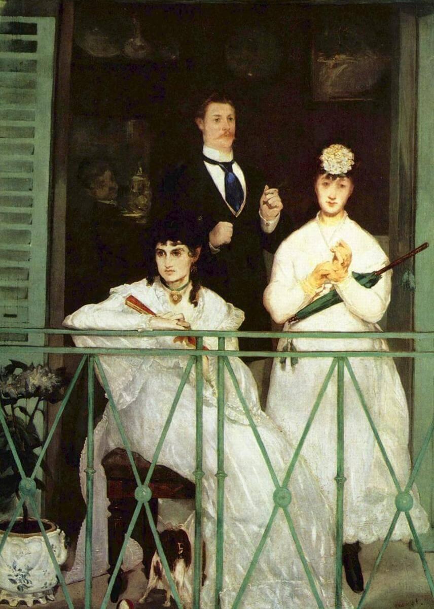 Балкон - Эдуар Мане (1869)