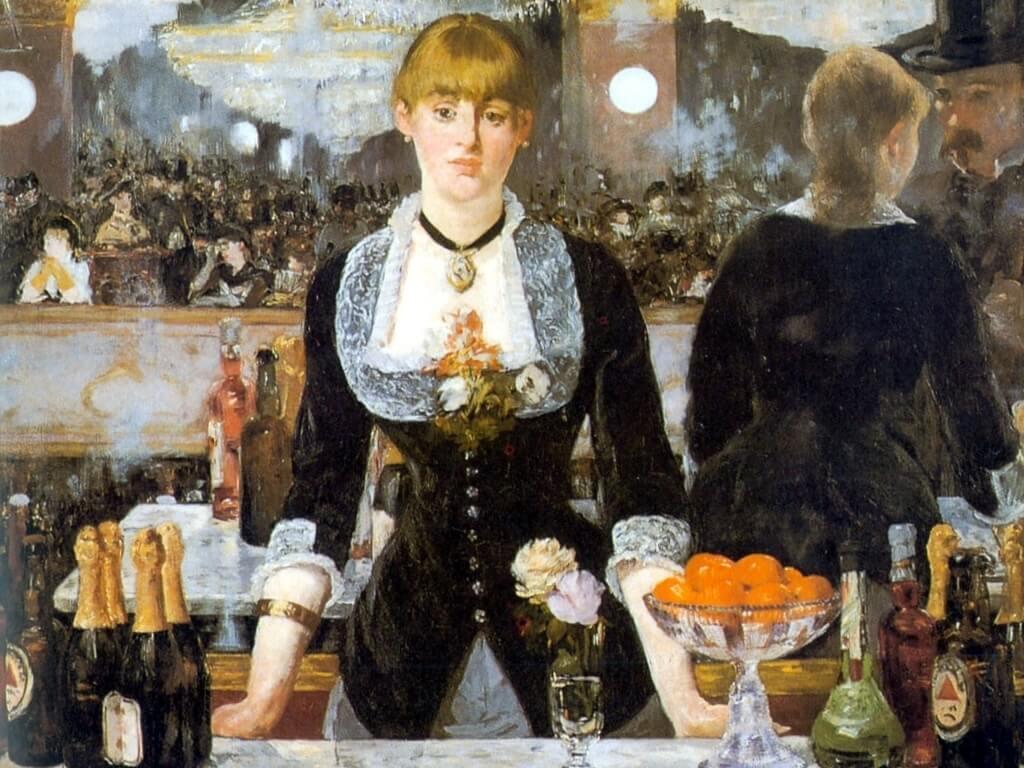 «Бар в Фоли-Бержер» - Эдуар Мане (1882)