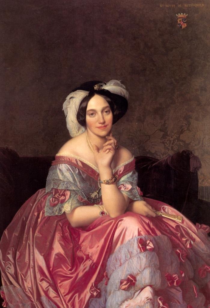 Баронесса Ротшильд - Жан Огюст Доминик Энгр (1848, частное собрание, Париж)