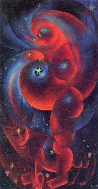 Беременная женщина - Отто Дикс (1919)