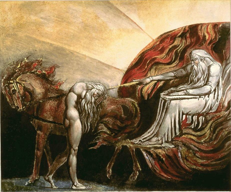 Бог судит Адама - Уильям Блейк