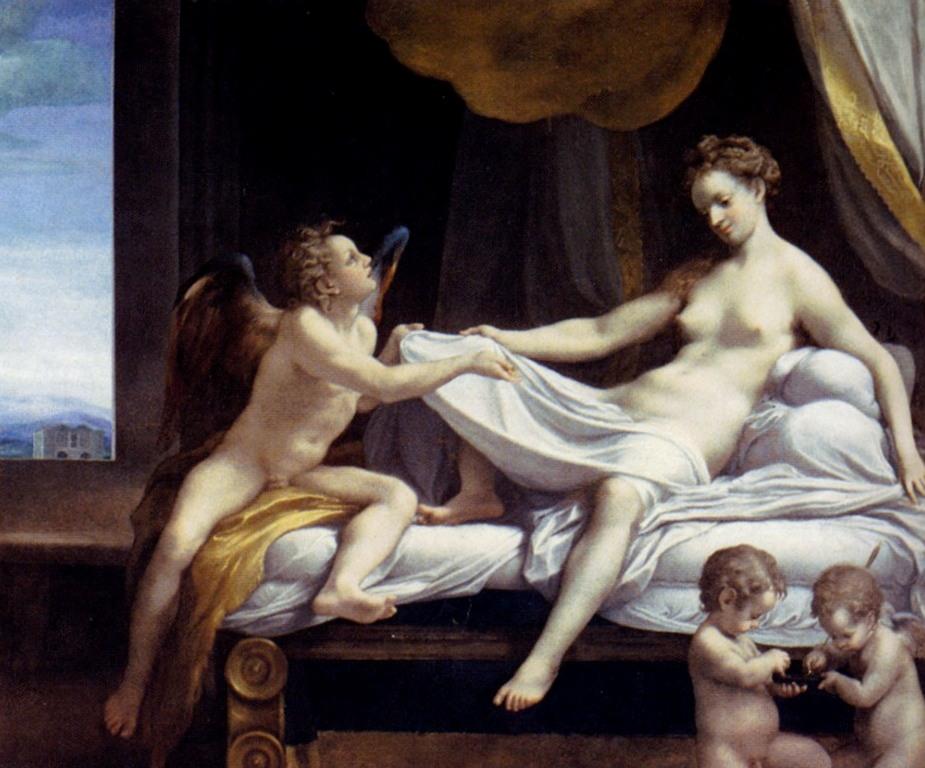 Даная - Корреджо (1531-1532, Галерея Боргезе,Рим)