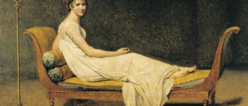 Муза художников, отдыхающая женщина