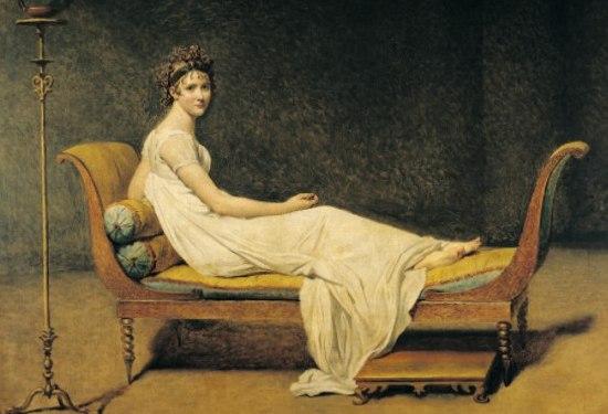 Давид Жак-Луи. Портрет мадам Рекамье. 1880